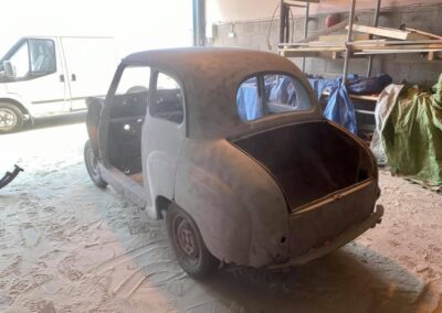 Austin A30 Fully Blasted