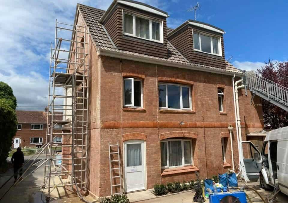 Building Restoration & Brick Cleaning Services