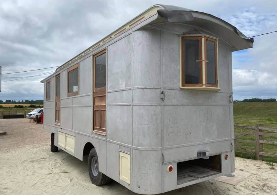 Trailer Paint Removal