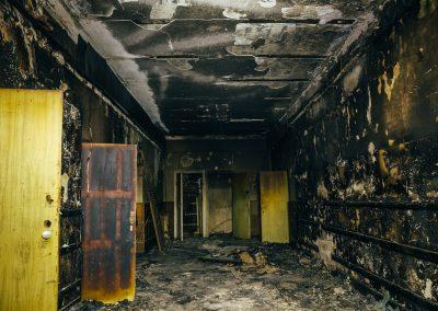 Smoke and Fire Damage Restoration